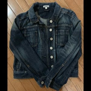 Express jean jacket size M, great condition